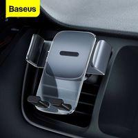 Baseus הכבידה רכב טלפון מחזיק כוס יניקה אוניברסלי טלפון רכב מחזיק מעמד הר רכב GPS תמיכה עבור iPhone Xiaomi Huawei
