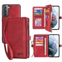Coque de téléphone portable en cuir PU, étui portefeuille pour Samsung Galaxy M31 S8 S9 S10 S20 S21 Plus Note20Ultra A20E A21S A40 A50 A51 A70 A71 S21FE
