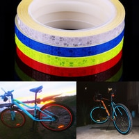 1 רול 8 מטר אופני קריסטל רשת רעיוני מדבקות רצועת MTB אופניים דבק קלטת רפלקטור מדבקת אופניים דקור אבזרים