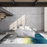 Reese Velvet Fleece Elegant Abstraction Art And Fashion Anti Slip Carpets Pro Area Rug Living Room Bedroom Modern Decor Washable
