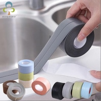 3.2m Bathroom Kitchen Shower water proof mould proof tape Sink Bath Sealing Strip Tape Self adhesive Waterproof Plaster GYH