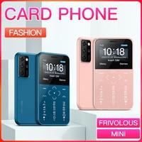 Soyes-mini telefone celular original, smartphone da moda para crianças, tamanho pequeno, 2g, gsm, 400mah, tela de 1.54 polegadas