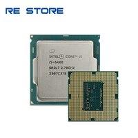 Verwendet Intel Core i5 6400 2,7 GHz Quad-Core Quad-Gewinde CPU Prozessor 6M 65W LGA 1151