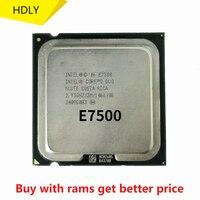 Original Intel CPU Core 2 Duo Prozessor E7500 2,93 GHz/3M/1066MHz Dual-Core Socket 775 schnelle schiff heraus