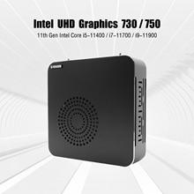 PC gamer Intel Core i9 11900 Core i7 11700 mini pc Windows11 dual DDR4 RAM max 64GB M.2 2280 SSD 4k HTPC NUC computer 16M 65W