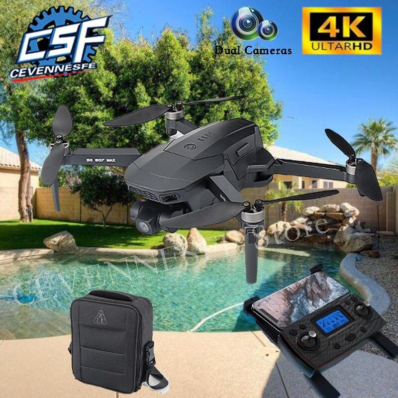 2021 NEUE SG907MAX Drone 4K HD 3-Achsen Gimbal Kamera Band GPS WIFI FPV RC Hubschrauber Faltbare Quadcopter profesional Drohnen Spielzeug