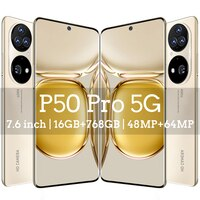 Globale Version Smart Telefon P50 Pro ,16Gb Ram 768Gb Rom Dual SIM Entsperrt Smartphone Android 11,0 Deca Core 4G/5G Zelle handys