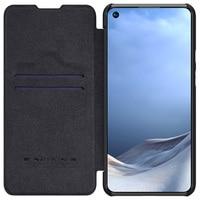For Xiaomi Mi 11 Lite Mi 11 Pro Case NILLKIN Luxury QIN Flip Wallet Phone Leather Cover For Xiaomi Mi11 Lite With card slot Case