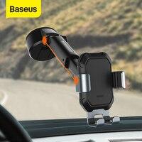 Baseus הכבידה רכב טלפון מחזיק מתכוונן אוטומטי תמיכה עם יניקה בסיס עבור 4.7-6.5 אינץ Mobilephone לרכב טלפון הר stand