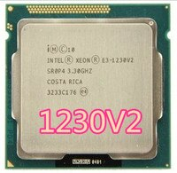 Intel Xeon E3-1230 V2 e3 1230 V2 3,3 GHz SR0P4 8M Quad Core LGA 1155 CPU E3 1230 V2 prozessor kostenloser versand
