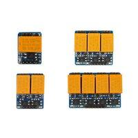 Relais modul mit optokoppler isolation 3,3-5V high level trigger 1 2 4 6 8 kanal relais modul miniatur relais control schalter