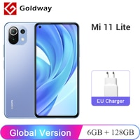 Globale Version Xiaomi Mi 11 Lite 4G Smartphone Snapdragon 732G Octa Core 6GB 128GB 64MP Hinten kamera 4520mAh 33W NFC
