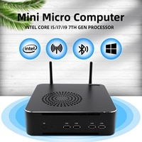 HYSTOU Neueste PC Intel Core i9 11900 Core i7 11700 Core i5 11400 Windows11 NVME SSD Mini-Computer mit Fan NUC desktop Gamer PC