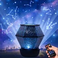 Star Projector Night Light Galaxy Starry Night Lamp LED Starry Sky Star Light For Bedroom Decor Kids Child Christmas Gift