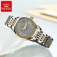 OLEVS Luxury Brand Women Automatic Mechanical Watches Steel Watch Band Watch Waterproof Simple Watch For Women Gift for Women
