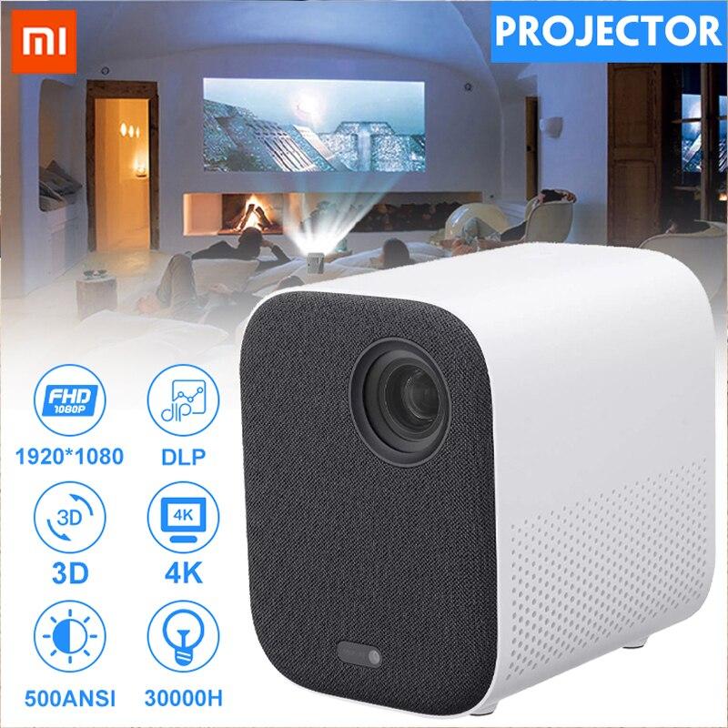 Xiaomi Mijia MINI proyector TV 4K DLP Full HD 1080P beamer 30000 LED Wifi HDR 10 3D proyector de cine en casa control remoto por voz