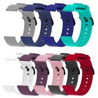 Huami Amazfit GTS GTR Watchband 용 Huami Amazfit Bip Strap 20mm 밴드 용 실리콘 팔찌 스트랩