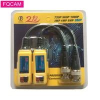 10 Pairs 8MP HD Analog CCTV Kamera 1CH Sender Passive Video Balun Transceiver BNC M für 2MP 5MP 8MP AHD sicherheit Kamera