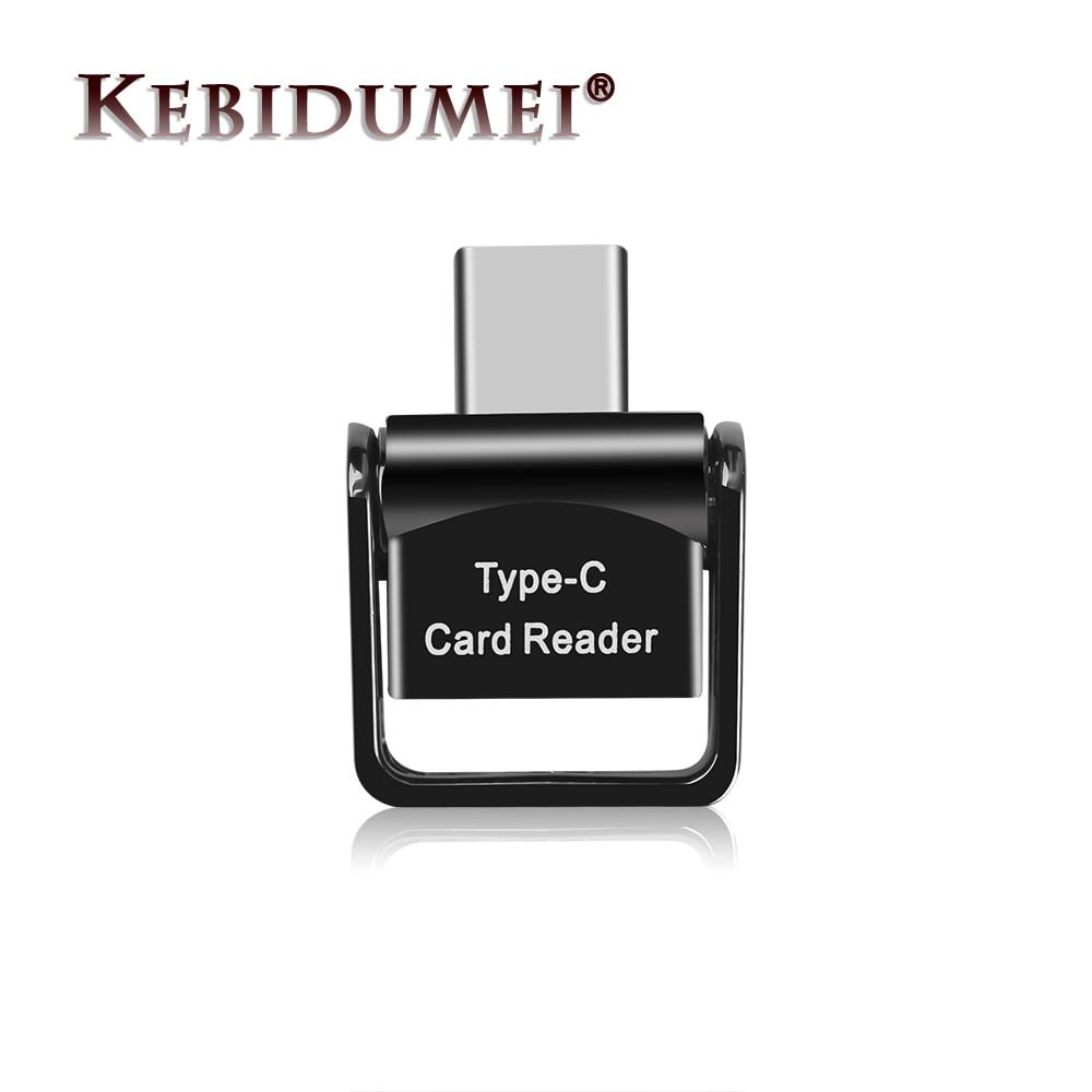 Kebidumei-lector de tarjetas USB 3,0, tipo C, USB-C, TF, microSD, OTG, para Samsung, Ligero, portátil
