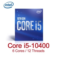 Intel Core i5-10400 Desktop Prozessor 6 Kerne bis zu 4,3 GHz LGA1200 (Intel 400 Serie Chipsatz) 65W
