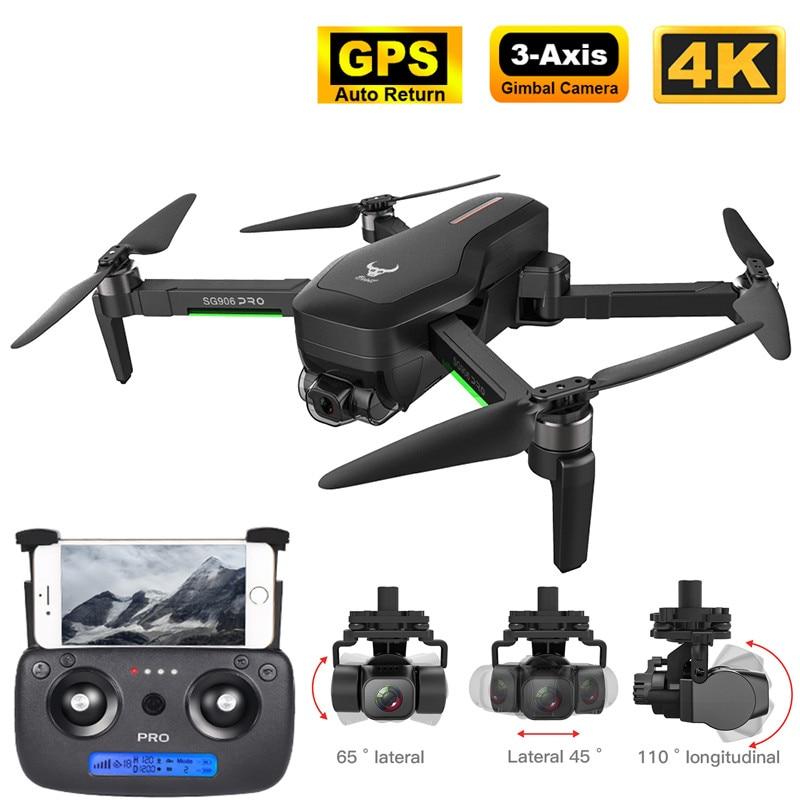 Neue GPS Drone mit 5G WiFi FPV 4K 3-achsen Gimbal 16MP Dual Kamera Profesional Bürstenlosen RC quadcopter Eders Hubschrauber