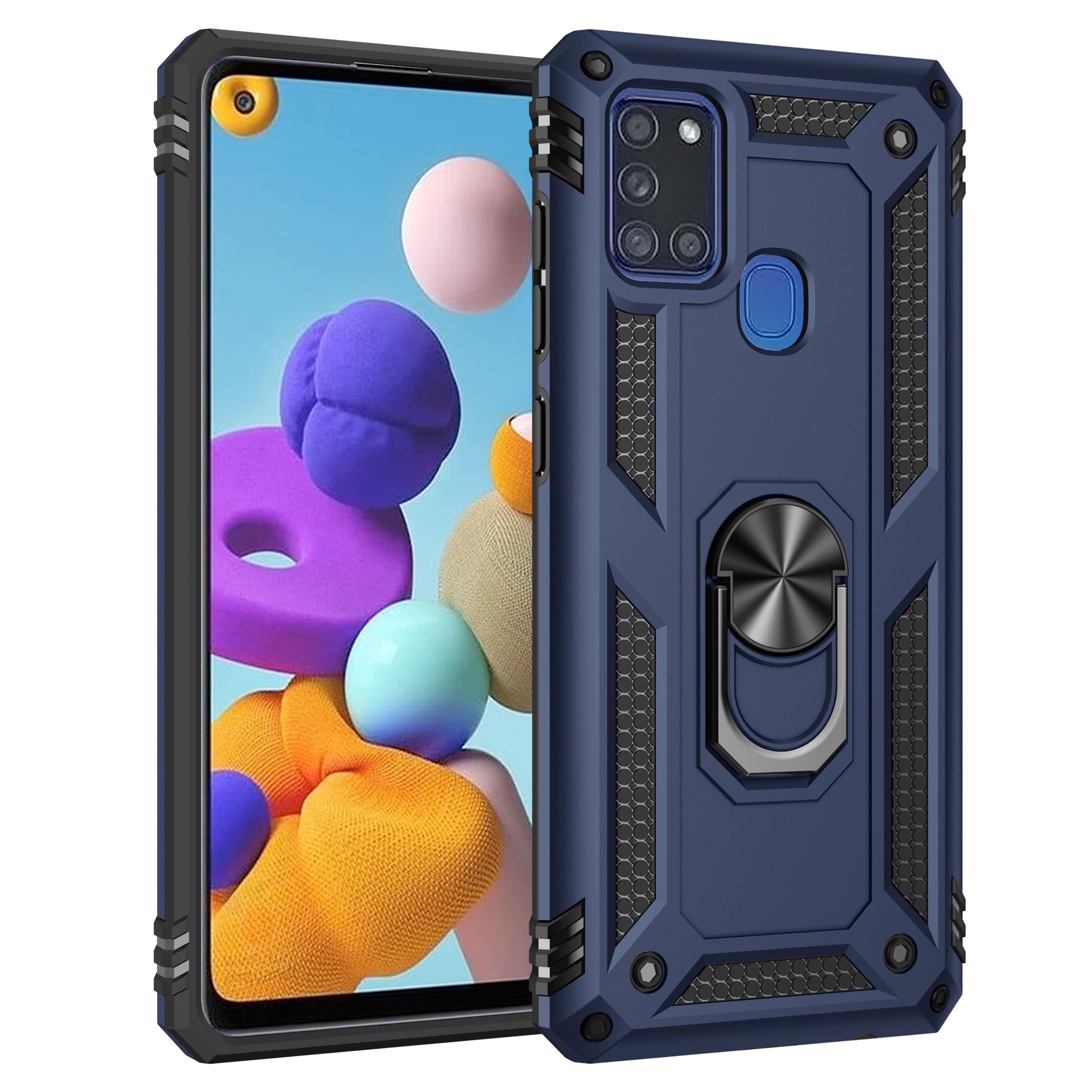 Funda de teléfono a prueba de golpes, armadura resistente, para Samsung Galaxy A02S A81 A91 A02 A01A31 A11 A41 A21 A21S