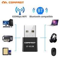 CF-813B Bluetooth Kompatibel 4,2 650Mbps Mini Wireless USB WI-FI Adapter 5Ghz PC LAN WIFI Netzwerk Karte Musik BT 4,0 sender