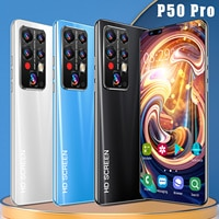 HUAWE P50 Pro Smartphone 7,8 Zoll Android 11 Smartphone 16G + 512G Handy Fingerprint entsperren Globale Version handy