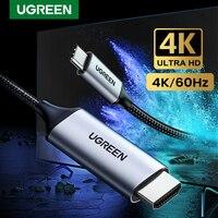 UGREEN USB C HDMI Kabel Typ C zu HDMI Thunderbolt 3 Konverter für MacBook Huawei Mate 30 Pro USB-C HDMI adapter USB Typ-C HDMI