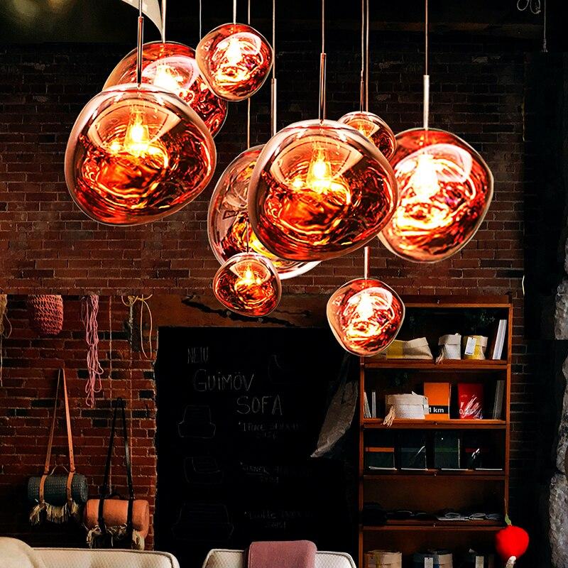 Nordic LED Schmelzen Anhänger Lichter für Haupt Dekoration, Lava Esszimmer Anhänger Lampe Wohnzimmer Leuchten Loft Küche