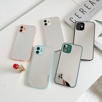 IPhone用耐衝撃ケース,iPhone 11 12 mini pro max xr xs max 7 8 plus SE 2020用デラックスケース,耐衝撃性,ソフト