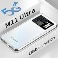 "Globale Version Mi 11 Ultra 5G Smartphone 6.7 ""6800mAh 16 RAM 512GB ROM 16MP + 32MP MTK6889 10 Core Android 11,0 Neue Echt Handy"