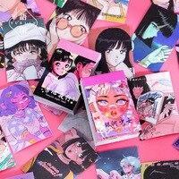 50 Pcs Nette Anime Mädchen Washi Aufkleber Buch Für Alben Tagebuch Kalender Dekoration Scarpbook Journal Kinder Diy Spielzeug Koreanische Schreibwaren