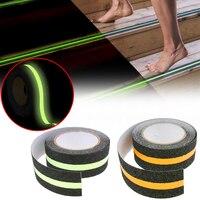 5M Floor Luminous Tape Anti Slip Adhesive Tape Glowing Strip Stair Step Floor Tape For Indoors Outdoors Floor Non-slip