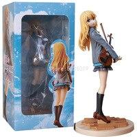 Figurine Kaori Miyazono, 23cm, personnage d'anime, jouet de collection, poupée Sexy pour fille