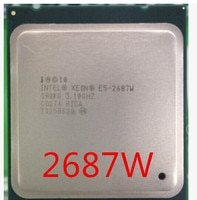 Intel Xeon E5 2687W 3,10 GHz 8-Core LGA 2011 server prozessor CPU E5-2687W 2687W