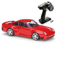 Hgm brinquedos 1/28 2.4g mini q9 rtr 4wd drift racing rc carro de controle remoto 6ch chassi metal para meninos presente porsche TH19506-SMT2