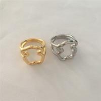 인기 판매 곰 반지 새로운 스타일 스테인레스 스틸 반지, 최고의 선물 애호가 귀여운 스타일 도매 가격