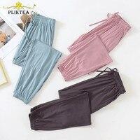 Summer Women's Pajama Pants Autumn Modal Lounge Wear Home Pants for Women Sleepwear Home Pants Home Suit Fall Homewear Trouser