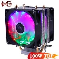 Stille CPU Kühler Fan 90mm 3PIN Für Intel LGA 775 1150 1151 1155 1156 1200 1366 AMD AM2 AM3 AM4 Buchse Effiziente Ventilador
