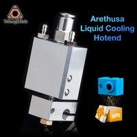 Trianglelab NEUE Arethusa Flüssigkeit Kühlung Hotend V 2,0 Für 3D Druck Peek PA Filament FÜR E3D V6 HOTEND Titan AQUA wasser Kühlung