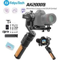 FEIYUTECH AK2000C 3 Axis Handheld Camera Stabilizer for DSLM/DSLR Camera Fits Sony/Canon/Panasonic/Nikon Mirrorless/DSLR