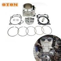Otom-conjunto de anel superior de junta de pistão para motocross, cilindro grande 95mm, conjunto para yamaha yz450f wr450f 5ta-11311-12