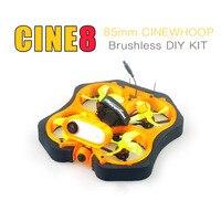 Happymodel CINE8 CRAZYBEE F4 V 3,1 12A 400mW Caddx ANT 1200TVL EX 1202,5 KV8000 2-3S 85mm Bürstenlosen Cinewhoop FPV DIY KIT Drone