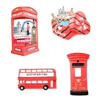 3D Resin Fridge Magnet London Tourist Souvenir Gift Refrigerator Magnetic Decals Sticker DIY Home Decoration