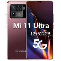 Globale Version Mi 11 Ultra 6,7-zoll Smartphone 6800mah Android Telefon 12G + 512G 16 + 32 MEGAPIXEL Gesicht Entsperren Telefon Unterstützt Google GPS