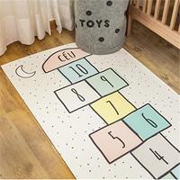 Lovely Jumping House Carpet Slip Floor Mat Children Play Climbing Game Area Rugs Interesting Car Bedroom Modern Printing Doormat