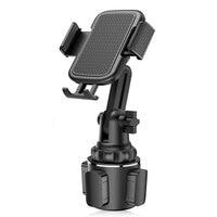 אוניברסלי רכב כוס נייד מחזיק הר Stand עבור טלפונים סלולרי נייד מתכוונן רכב כוס טלפון הר עבור Huawei סמסונג
