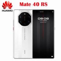 Original Offizielle Huawei Mate 40 RS Parsche Design 5G Handy Kirin9000 6.76 ''OLED 50MP Kamera IOS 10X zoom 66W Super Ladung