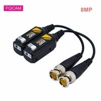 10 Paare/los Übertragung Kabel 8MP HD-CVI/HDVI/AHD Passive Video Balun Transceiver Kabel Verdreht Sender für CCTV System